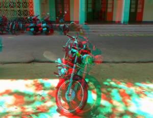 Bike 3D Anaglyph
