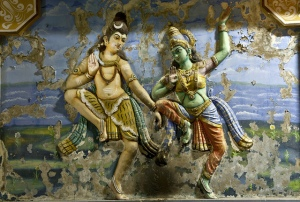 Cosmic Dance of Shakthi and Shiva