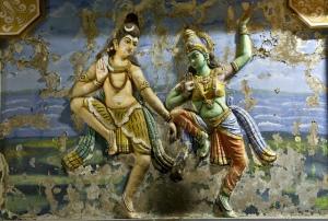 Cosmic Dance of Shakthi and Shiva